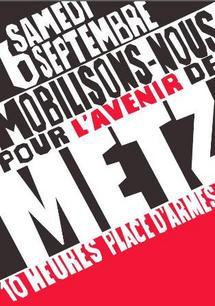 Manifestation à Metz le 6 septembre contre la nouvelle carte militaire