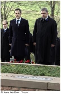 Le Président de la République commémore le 90ème anniversaire de l'Armistice
