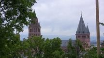Vue sur la cathédrale de Mayence