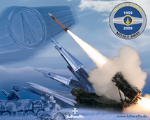 1959-2009 : 50ème anniversaire de la défense aérienne sol-air de la Luftwaffe (Flugabwehrraketen)