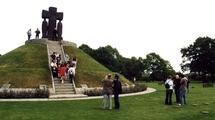 Visite du cimetière militaire allemand de Lacambe