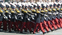 Quatre officiers allemands deviennent Saint-Cyriens