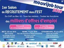 Le Moovijob Tour 2010 à Metz le 28 mai : trouvez un job dans la Défense