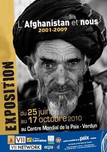 """""""L'Afghanistan et nous, 2001-2009"""", nouvelle exposition du Centre mondial de la Paix de Verdun"""