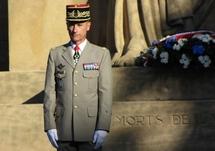 Le Général Jean-Loup Chinouilh le 31 août 2010 à Metz