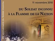 Veillée populaire sous l'Arc de Triomphe le 11 novembre