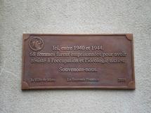 La plaque inaugurée