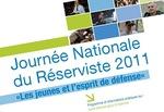 """""""Les jeunes et l'esprit de défense"""", thème 2011 de la journée nationale du réserviste"""