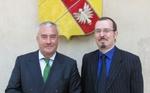 Ludwig Spaenle, Ministre d'Etat de Bavière et Gregory Dufour, Président du Cercle Esprits de Défense, auditeur de l'IHEDN et fondateur d'i-defense.org