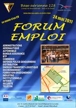 Le Forum Emploi sera sans doute la dernière grande manifestation publique organisée par la Base aérienne avant son départ de Metz en 2012