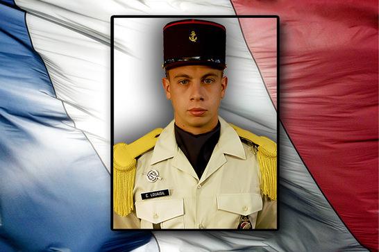 Le 1ère classe Cyril Louaisil est décédé en Afghanistan le 18 mai 2011 (crédit photo : SIRPA Terre)