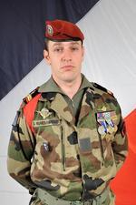 Le caporal-chef Guillaume Nunes-Patego est tombé en Afghanistan le 1er juin dernier (crédit photo : SIRPA Terre)
