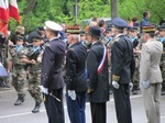 Dfil militaire le 14 juillet 2011  Metz devant les autorits civiles et militaires
