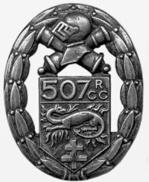 Insigne du 507ème Régiment de Chars de combat