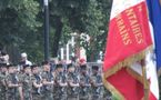 Des volontaires du service civique à vélo lors du défilé du 14 juillet ?