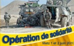 Metz - Week-end de solidarit pour nos soldats blesss - 1 et 2 juin