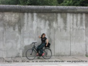 Un pan subsistant du Mur de Berlin