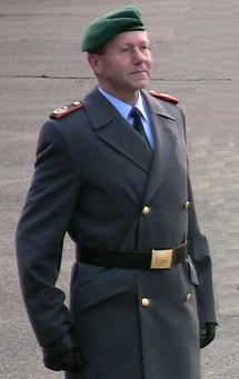 Le Generalmajor Gerhard Stelz, nouveau commandant du WBK II