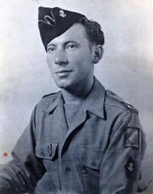 L'Aspirant Francis Masset en mai 1945