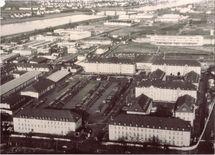 Vue aérienne du Quartier Casablanca - collection Alexandre Wattin