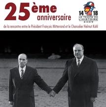 """Colloque à Verdun : """"La rencontre Mitterrand-Kohl de Verdun, une journée européenne"""""""