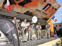 La Musique de la Région Terre Nord-Est à la fête nationale allemande