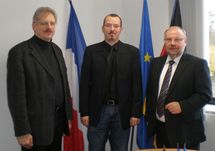Uwer Bader, Gregory Dufour et Dieter Burgard