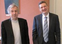 Jean-Pierre Masseret et Stephan Toscani
