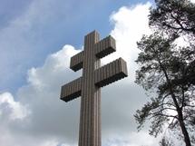 La Croix de Lorraine à Colombey-les-deux-Eglises