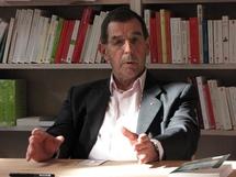 Le Général Lafourcade lors de la présentation de son ouvrage à la librairie Géronimo de Metz