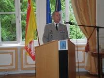 Le Général Jean-Loup Chinouilh, Gouverneur militaire de Metz