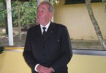 Le Colonel Francis Masset le 8 août dernier