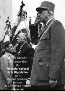 Derniers jours pour l'exposition « il y a 50 ans le Général de Gaulle inaugurait le Mémorial du Struthof »