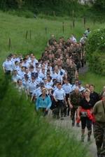 La marche de l'Armée luxembourgeoise a réuni plus de 8 000 personnes en 2010 (crédit : www.marche.lu)