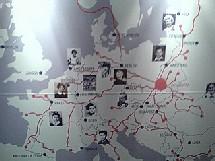 Itinéraires macabres d'enfants déportés les menant à Auschwitz