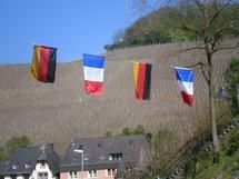 La ville de Saarburg avait revêtu les couleurs franco-allemandes pour cette commémoration