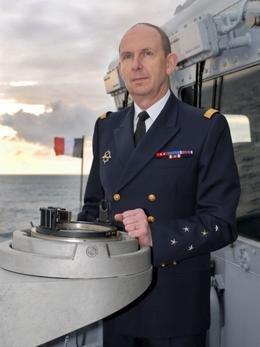 L'Amiral Forissier, nouveau chef d'Etat-Major de la Marine