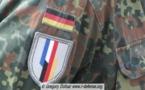 Un symbole franco-allemand : des soldats allemands sur les Champs-Elysées