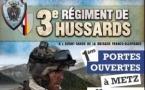 Premières portes ouvertes du 3ème Régiment de Hussards