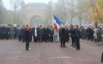 """11 novembre à Metz – le Lycée Anne de Méjanes reçoit le Drapeau du """"Poilu de France"""""""